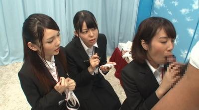 スーツ女子にチンポ露出CFNM3