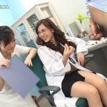 医者も患者もナースや女医にバカにされる男たち(CFNM)サンプル8