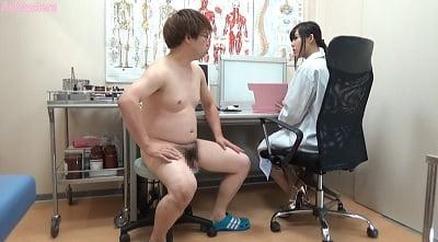 CFNM「男性検査」があるクリニック 女医の手コキ編2