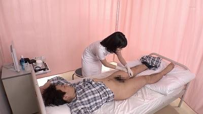 「早漏の相談中に我慢できず暴発したら優しくゆっくり改善セックスしてくれた看護師さん」 VOL.3サンプル4