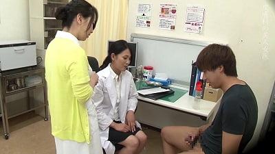 美人の先生がいる皮膚科に行って腫れたチンコを診てもらう流れでヌイてもらいたい4時間SPサンプル3