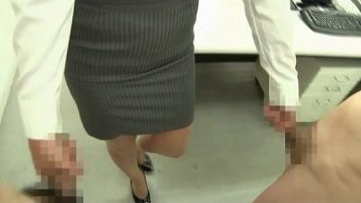 着衣女性と裸の男・ボディコンお姉さん編サンプル27