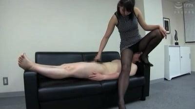 着衣女性と裸の男・ボディコンお姉さん編サンプル4