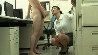 着衣女性と裸の男・ボディコンお姉さん編サンプル18