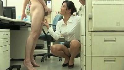 着衣女性と裸の男・ボディコンお姉さん編サンプル21