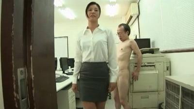 着衣女性と裸の男・ボディコンお姉さん編サンプル23
