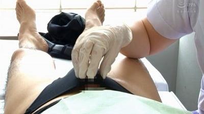 痴女歯科衛生士のゴム手袋手コキマゾ射精CLEANING!サンプル20