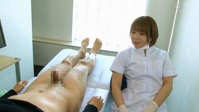 痴女歯科衛生士のゴム手袋手コキマゾ射精CLEANING!サンプル28