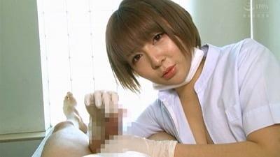 痴女歯科衛生士のゴム手袋手コキマゾ射精CLEANING!サンプル29