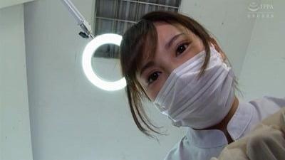 痴女歯科衛生士のゴム手袋手コキマゾ射精CLEANING!サンプル5