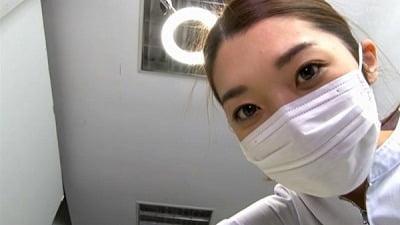 痴女歯科衛生士のゴム手袋手コキマゾ射精CLEANING!サンプル2
