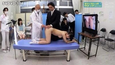 共学校で行われた男女混合アナル健康診断 2020春サンプル17