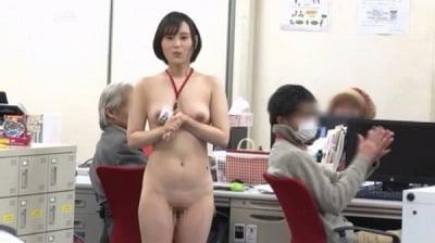 1週間全裸業務で羞恥心を克服!一回りも二回りも成長した浅井心晴の公開羞恥SEXサンプル19