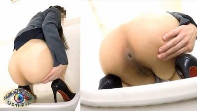 覗き見 清楚な女の子の豪快おなら4 女子トイレ編サンプル25