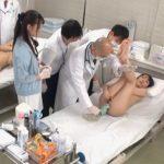 羞恥 生徒同士が男女とも全裸献体になって実技指導を行う質の高い授業を実践する看護学校実習2020サンプル3