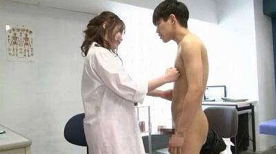 M男がみんな夢中になる保健室のアナル責め先生 七瀬もなサンプル22