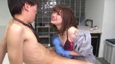 痴女清掃員のゴム手袋手コキマゾ射精WASH!3サンプル12