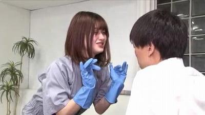 痴女清掃員のゴム手袋手コキマゾ射精WASH!3サンプル7