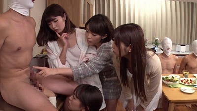 女子大生専用チ◯ポ付きシェアハウス ~完全女性優位な CFNMの世界~サンプル13