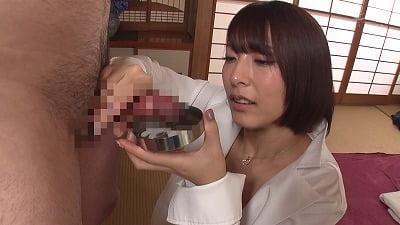 剃毛して舌を突っ込みながら唾液でたっぷり治療してくれるアナル舐め美人女医 阿部乃みくサンプル15