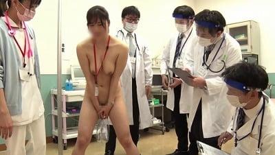 羞恥!2021年新任ナース病棟着任前CMNF強制全裸健康診断サンプル9