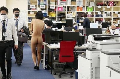 CMNF社内で全裸は1人だけ!SOD女子社員体験入社羞恥研修サンプル22