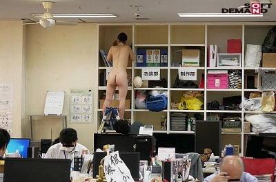 CMNF社内で全裸は1人だけ!SOD女子社員体験入社羞恥研修サンプル26