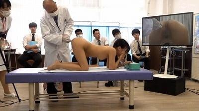 2021年教員男女混合健康診断で女教師が羞恥全裸CMNFサンプル321