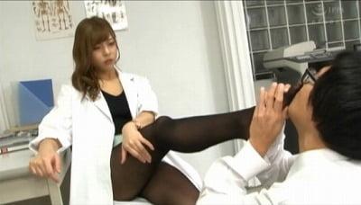 CFNM着衣フェチ・匂いフェチ・足フェチM男を肛門責め手コキサンプル1
